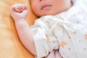 寝顔の赤ちゃん